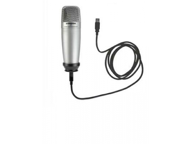 The condenser microphone is ideal when needing to capture audio from a group/room.